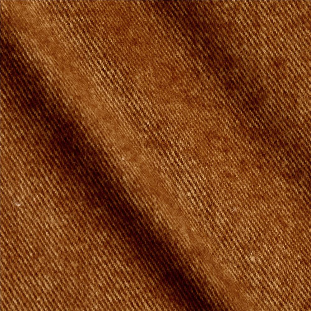 Primo Plaids V Flannel Textured Solid Brown