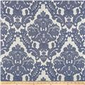 Parisian Alisace Basketweave Jacquard Damask Royal