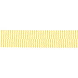 May Arts 1 1/2'' Chevron Twill Ribbon Spool