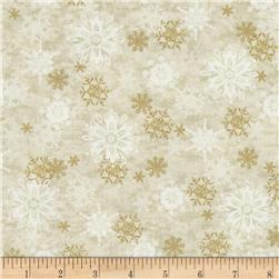 Sharla Fults Winter Joy Snowflake Cream