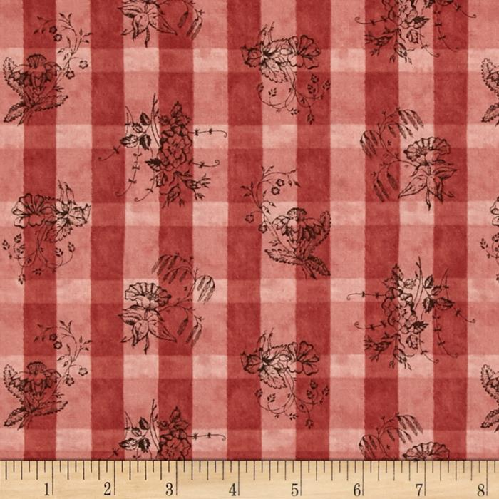 Moda Collections For A Cause Nurture Plaid Floral
