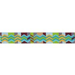7/8'' Anna Maria Horner Ribbon Zag Zig Brown/Lime
