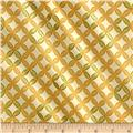 Kanvas Autumn Splendor Metallic Fig Leaf Geo Maize