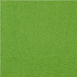 Terry Cloth Cuddle Dark Lime