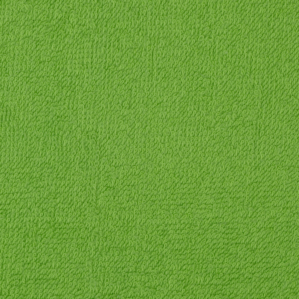 Terry Cloth Cuddle Dark Lime Fabric