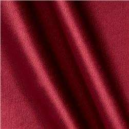 Poly Crepeback Satin Burgundy