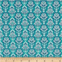 Riley Blake Vienna Damask Green