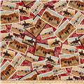 Ranch Hands Post Cards Red