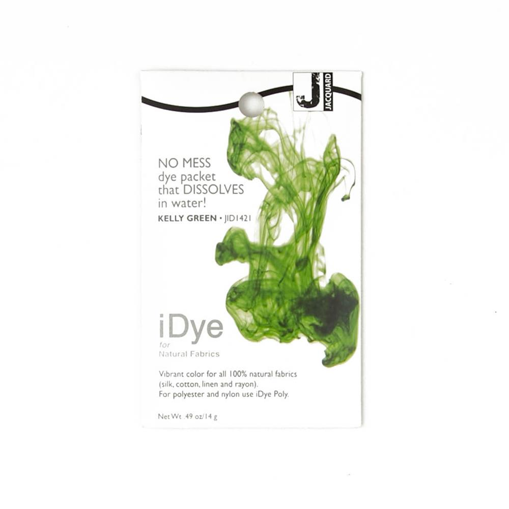 Jacquard iDye Natural Fiber Dye Kelly Green