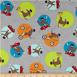 Moda Monkey Tales Helmet Head Grey