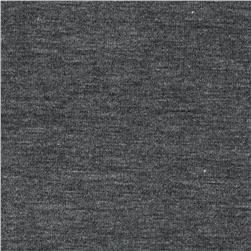 Rayon Spandex Jersey Knit Cool Charcoal Grey