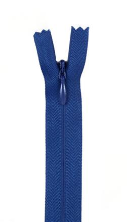 "7/9"" Poly Invisible Zipper Yale Blue"
