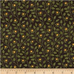 Mary Koval Tree of Life Vine Leaf Brown