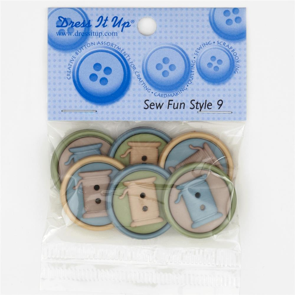 Dress It Up Embellishment Buttons  Sew Fun Style 9