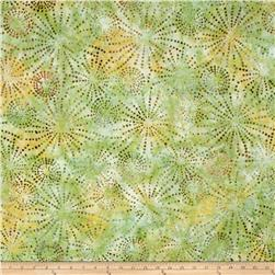 Batavian Batiks Sparklets Light Green