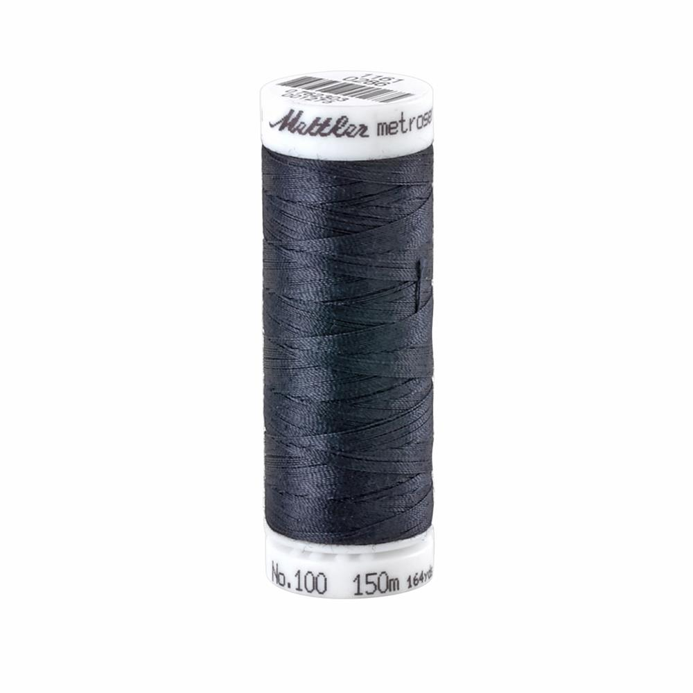 Mettler Metrosene Polyester All Purpose Thread Dark Lake