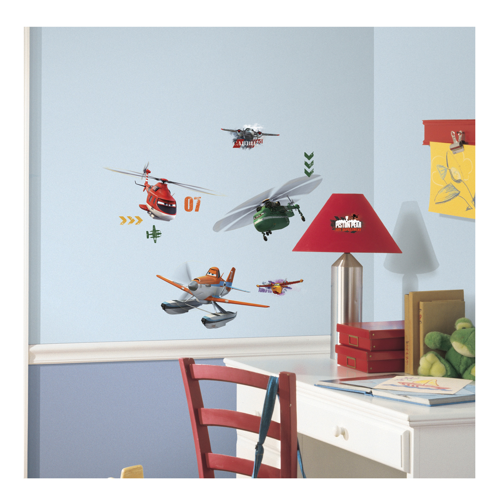 Image of Disney Planes Fire And Rescue Wall Decal