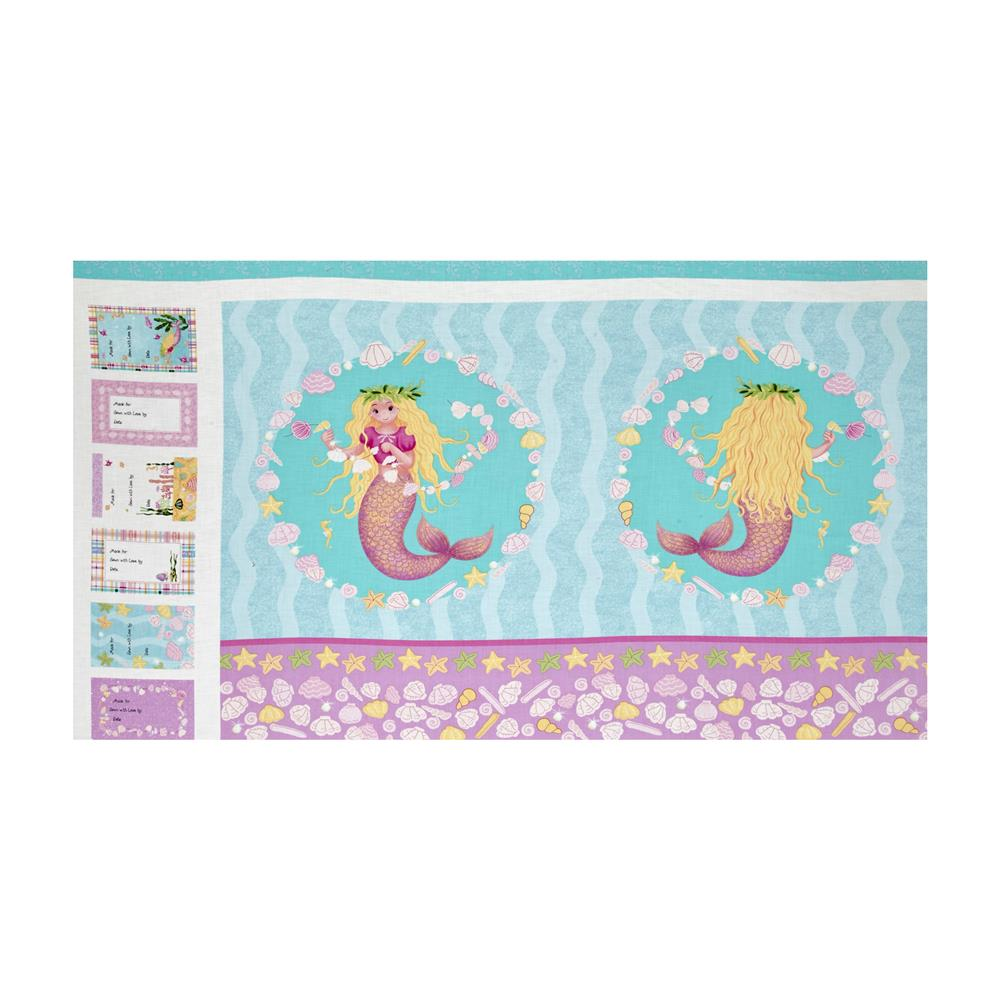 Mermaid Wishes Panel Multi