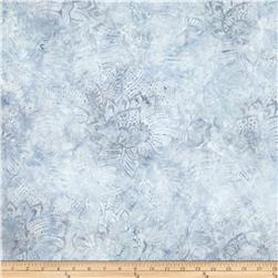 Batavian Batiks Fronds Light Gray