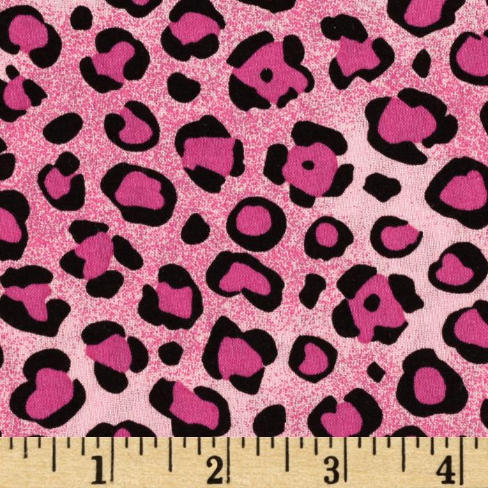 Animal Prints Leopard Pink/Black
