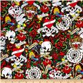 Ed Hardy Love Is True Packed Skulls & Hearts Grey