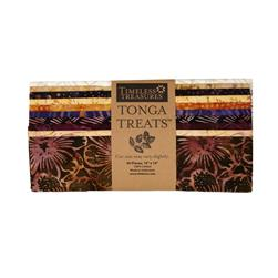 Timeless Treasures Tonga Batik Fig 10 In. Squares