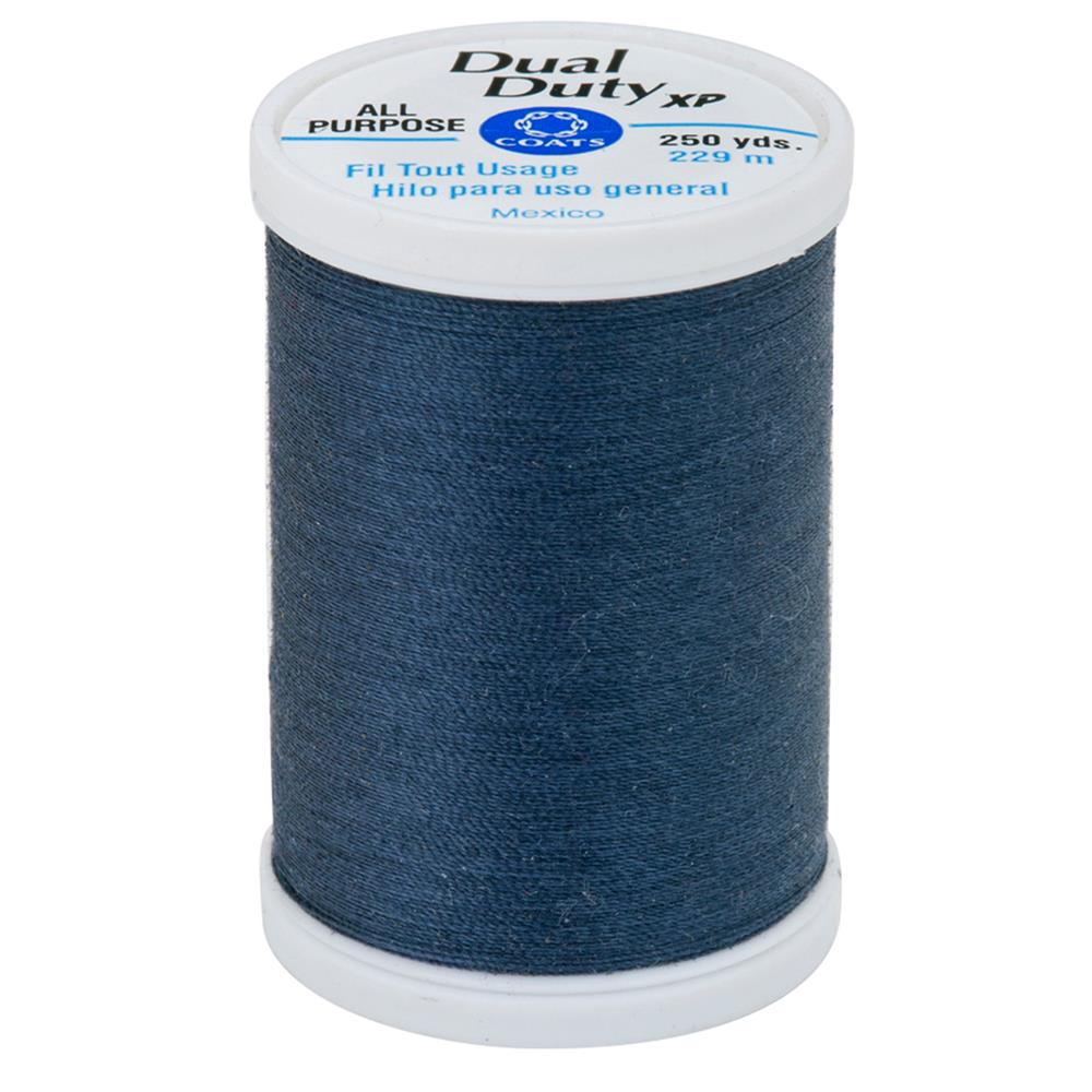 Coats & Clark Dual Duty XP 250yd Blue Stone