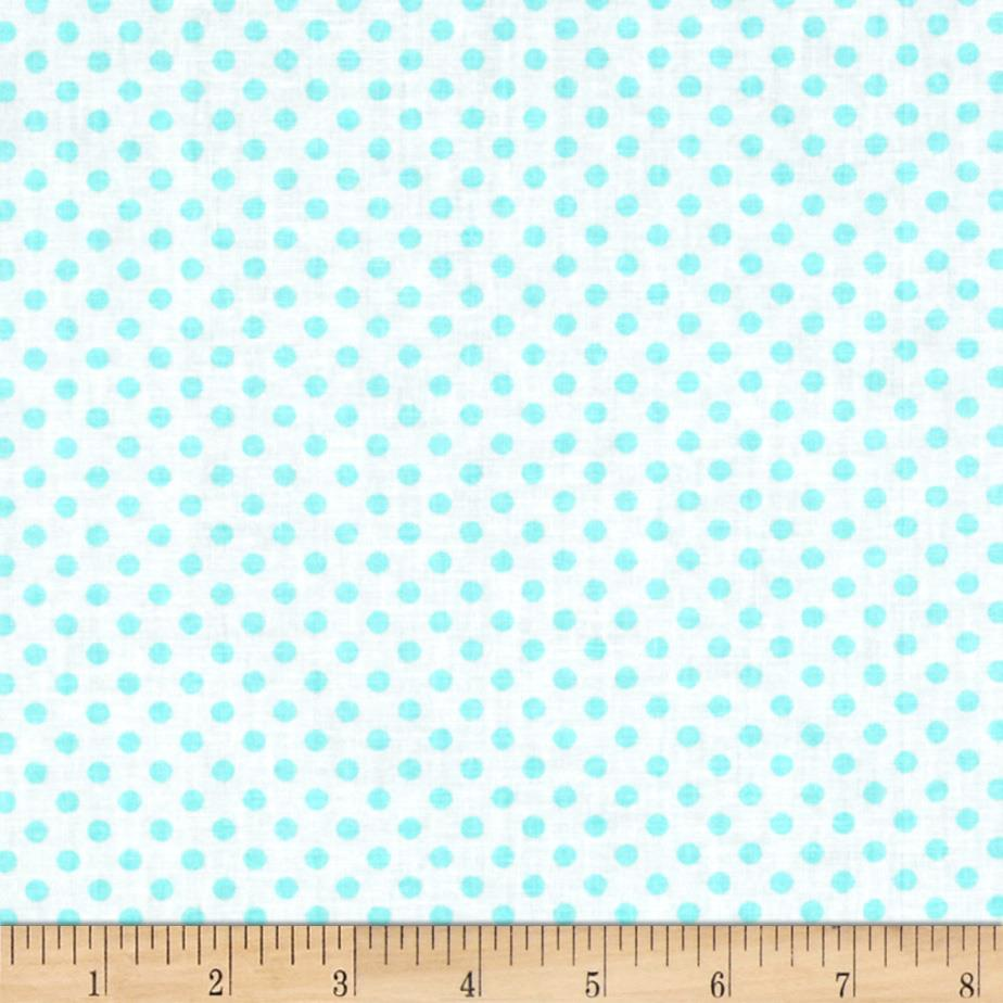 Spot On II Mini Dots White/Aqua