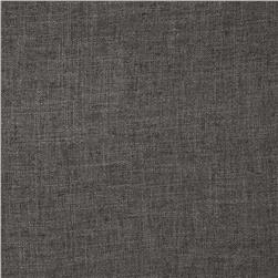 Ramtex Zuma Slubbed Linen Blend Charcoal Fabric