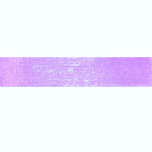 1'' Sheer Organza Ribbon Lavender