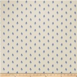 Fabricut Faustine Wallpaper Indigo (Double Roll)