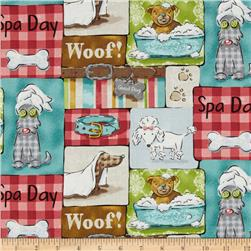 Pampered Pooch Dog Patchwork Multi