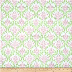 Premier Prints Madison Gate/Baby Pink Fabric