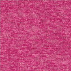 Slub Heathered Hatchi Knit Magenta