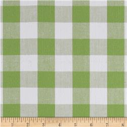 Kaufman 1'' Carolina Gingham Celery