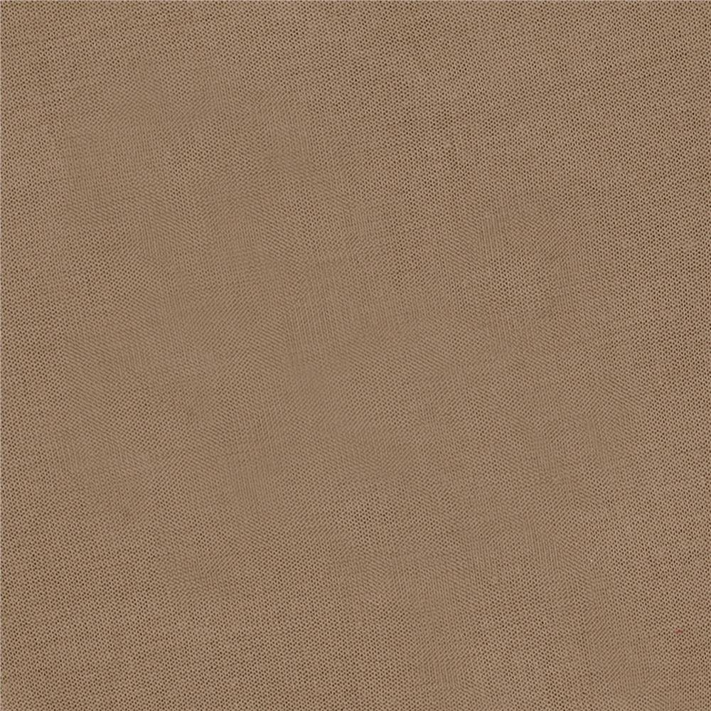Rayon Jersey Knit Solid Taupe