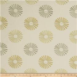 Jaclyn Smith 02619 Embroidered Carthage Lemon Zest