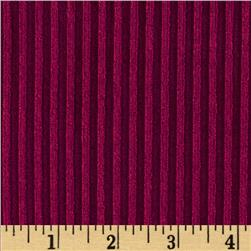 Ultra Stretch 2 x 1 Rib Knit Magenta