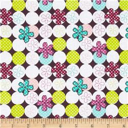 Dot Kitty Tossed Floral Multi