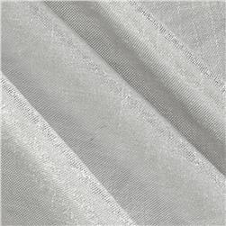 Lux Metallic Shirting Silver