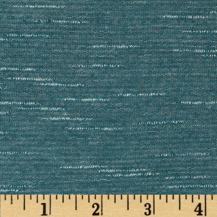 Stretch Tissue Slub Hatchi Knit Cadet Blue