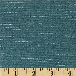 Stretch Tissue Slub Hatchi Knit Cadet Blue Fabric