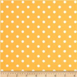Moda Prairie Polka Dot Yellow