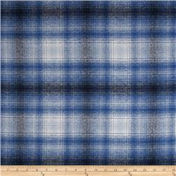Kaufman Mammoth Flannel Plaid Blue