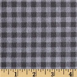 Mountain Lodge Flannel Buffalo Plaid Light Grey