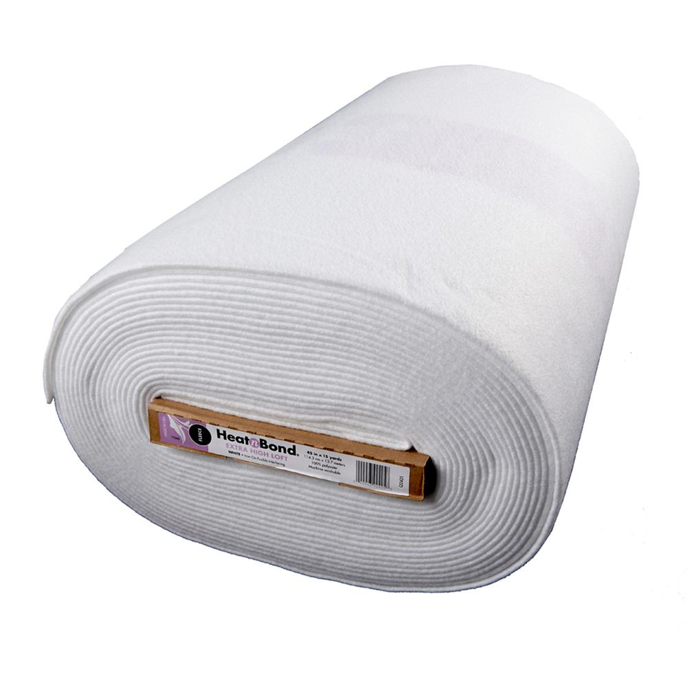 Heat'n Bond High Loft Fusible Fleece Stabilizer  White