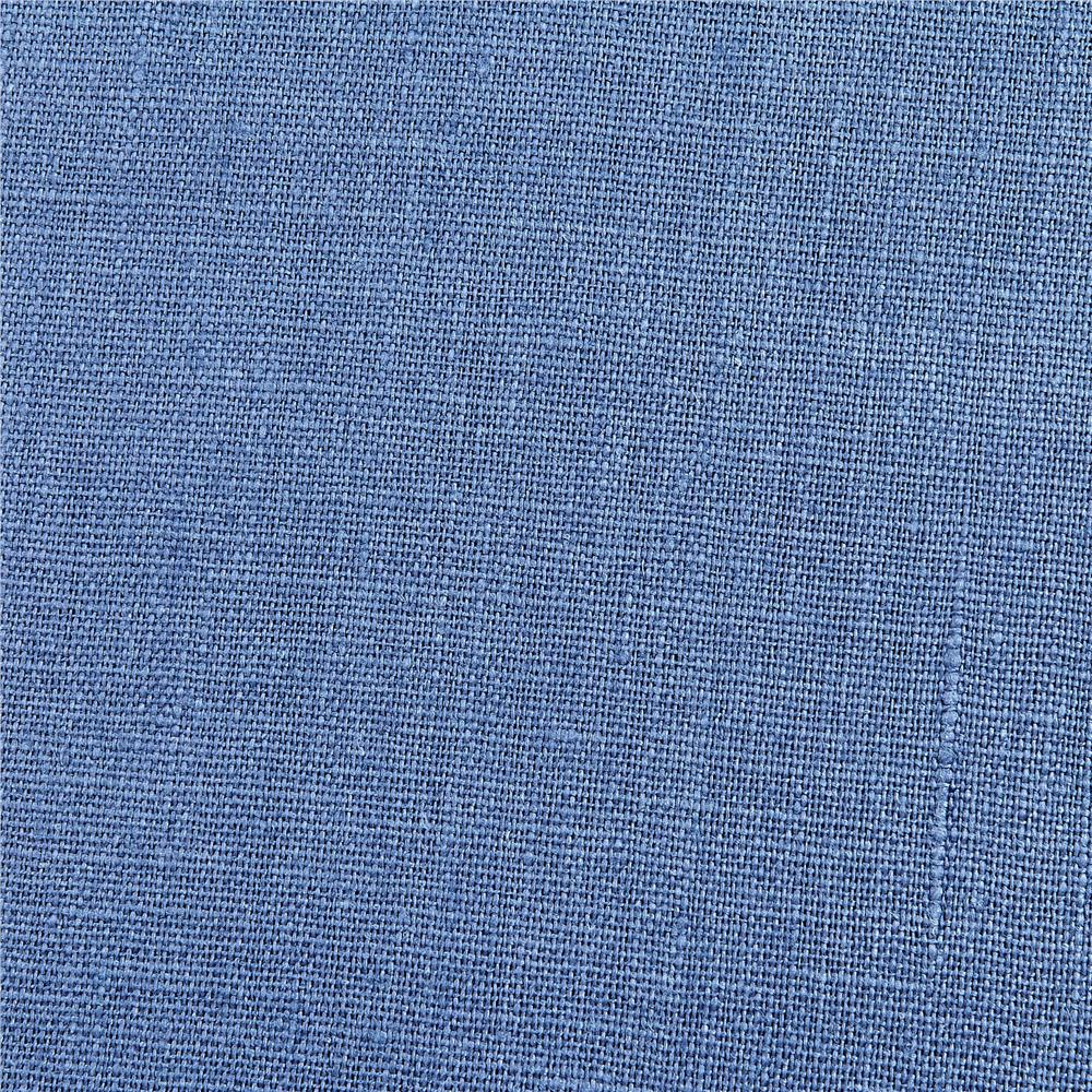 European 100% Washed Linen Pacific Fabric