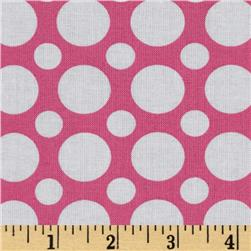 Kaufman Spot On Large Dot Pink