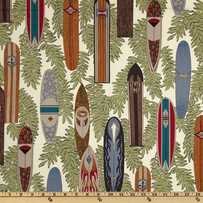 Tropicals and Conversationals Surf Boards Tan