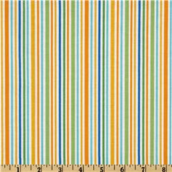 Riley Blake Zoofari Stripe Orange